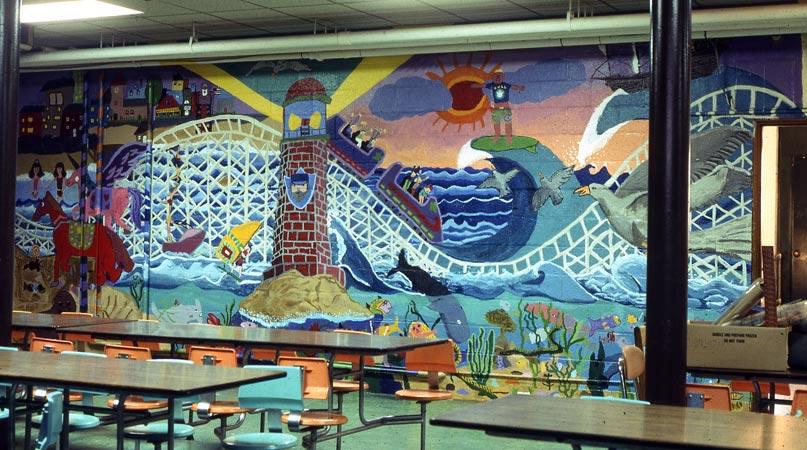David fichter student mural portfolio boston murals for Mural for school