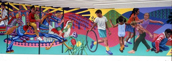 Any writing or picture mural competitions for minors?